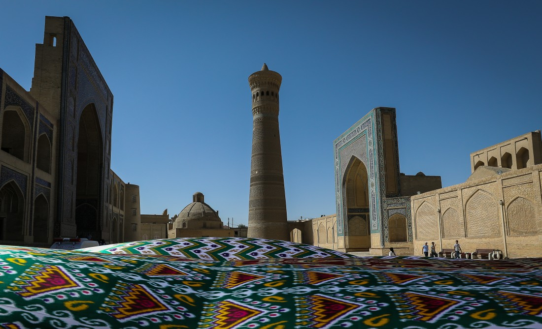 Ancient and forever young Bukhara