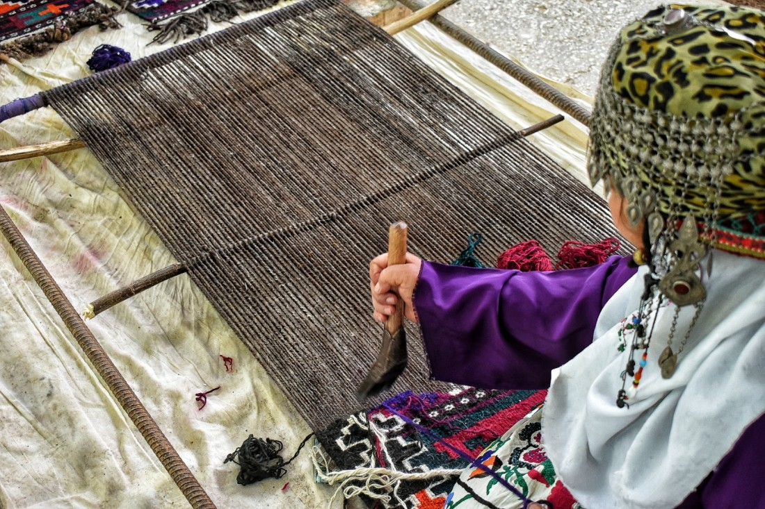 The art of embroidery in Jeynau