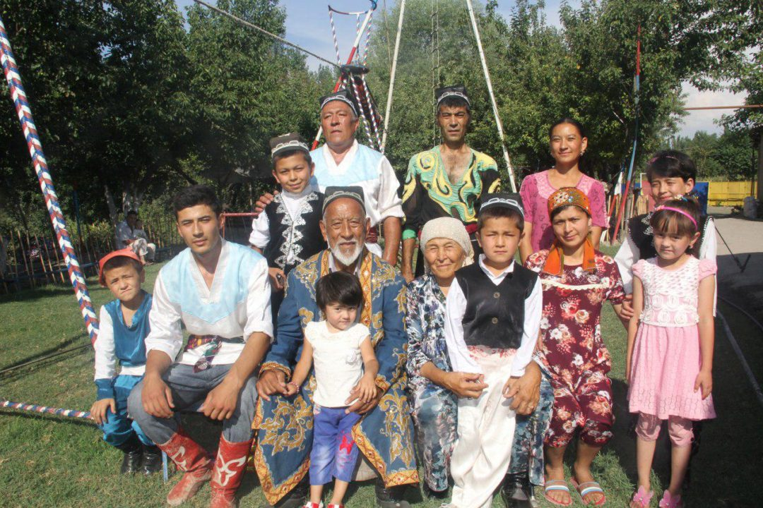 Family of Yunusali-ota Gaziev